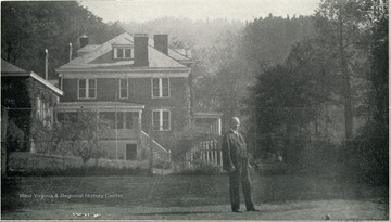 View of the main building of McKendree Emergency Hospital. McKendree Hospital No. 2 'Number of patients treated during June, 1930 was 247.' The superintendent was M. V. Godbey, M. D. This institution is located at McKendree, Fayette County, and is reached by the Chesapeake and Ohio Railroad.