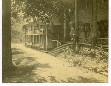 View of Ward family home in Charleston. 'Our home from 1882 to 1913.'