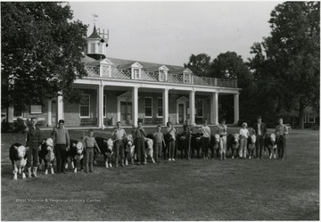 State 4-H Camp at Jackson's Mill, which was the first in the nation when it opened in 1921.