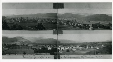 Two views of Beverly in Randolph County, West Virginia.