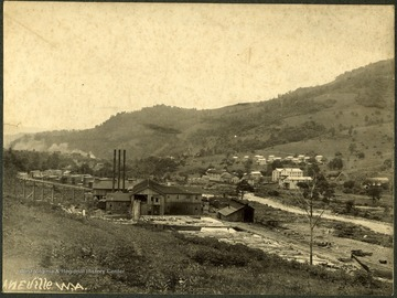 Laneville in Tucker County. 'Mabel B. Stealey, Laneville, Tucker County, W. Va. was the wife of Joseph E. Stealey, book keeper for Parsons Pulp and Paper Company.'