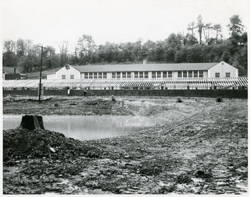 A former shirt factory in Arthurdale that was bought by J.W. Ruby.  It is now a chicken farm.