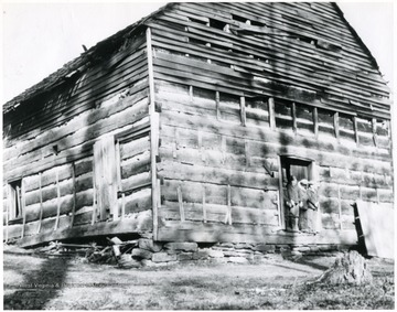 'Mt. Tabor Baptist Church near Laurel Point on Old Fishing Creek Road to Richmond.'
