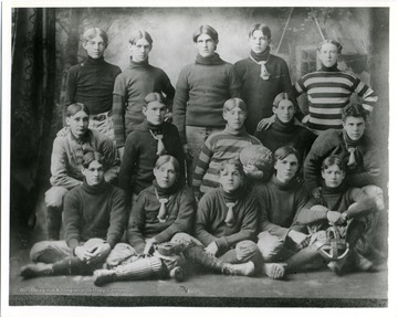 Photo 1900-1 Captain of University of Michigan Football Team