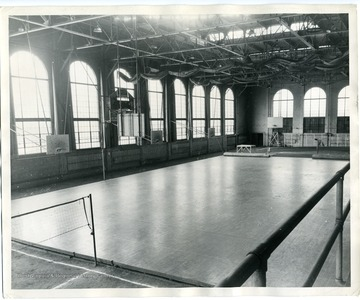 The Field House, now known as Stansbury Hall, was completed in 1928.