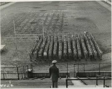 Military training at the University during World War II was under the Army Specialized Training Program.