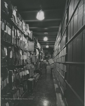 The tenth level, West Virginia Collections, prior archives.
