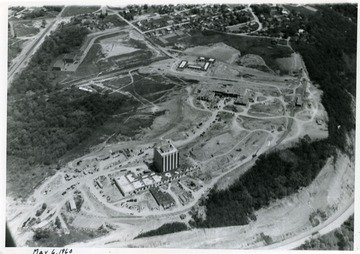 'WVU new Agricultural Engineering Campus financed from $10,000,000 issue ready (?) 1961.'