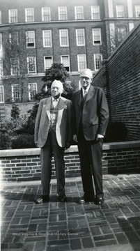 Professors in  Department of History pose on the WVU campus.