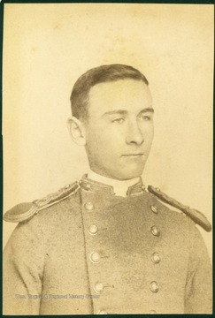 Enoch H. Vickers dressed in uniform.