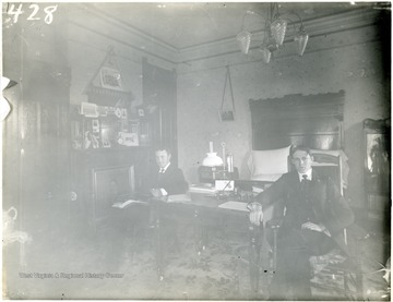 Harry Cole at left. Others are not identified