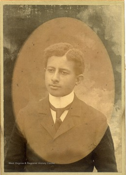 Portrait of African-American student, George Crane.
