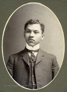 Portrait of African-American student, William D. Johnson.