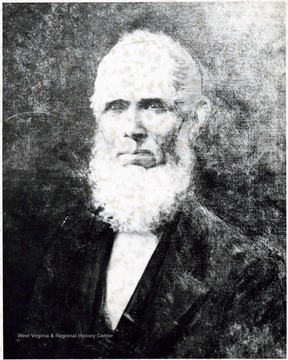 Portrait of John Storer, the founder of Storer College.