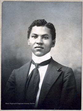 Portrait of African-American student William D. Johnson.