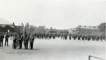 Cadets in Drill Field.