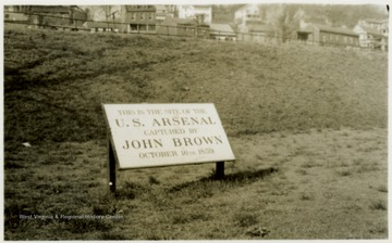 This is the site of the U.S. Arsenal captured by John Brown October 16th 1859.