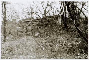 Appears to be a stone wall or fort.