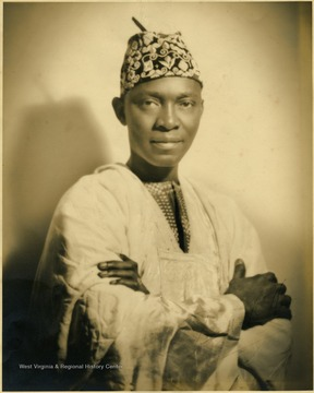 Nnamdi Azikiwe from Nigeria, attend Storer College in Harpers Ferry, W. Va., 1926-1928. He subsequently became the first president of the Federal Republic of Nigeria.