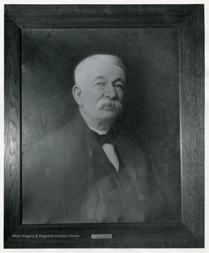 'Major E. A. Bennett, Mayor 1885-1886, 6th Regiment W. Va. Inf. U.S. Vol.'