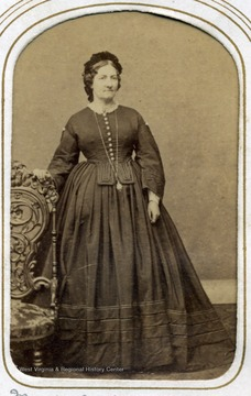 Portrait of Mary Jackson from the George W. Jackson family photo album.