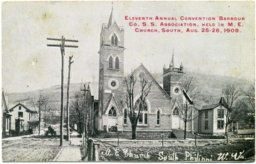 Eleventh Annual Convention Barbour County S. S. Association, held in M. E. Church, South, August 25-26, 1908.
