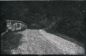 Gen. no. 91, neg. by W, No. 35. Tuesday 2:30 P.M. View over the bridge.