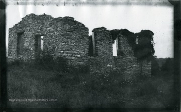 '123.W.(50); Old Ruin of Stone House; August 2, 1884, Saturday 10:15 am.'