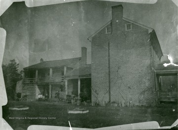 The home of Jim Dunlap in Red Sulphur Springs, W.Va., from the Ellison-Dunlap families of Monroe County.