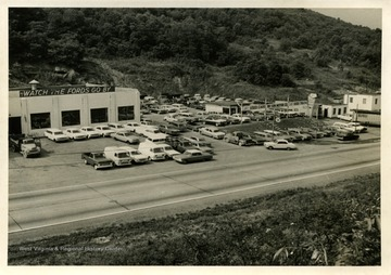 The dealership is on Bridgeport hill.