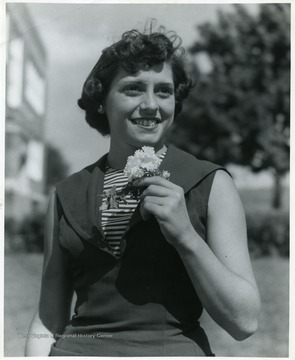 'Queen Ceres XV - (15th); 1956 Preston County Buckwheat Festival'