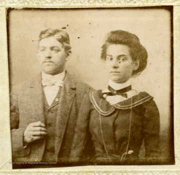 Unidentified man and woman.