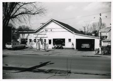 A gas station on State Route 50 in Bridgeport, W. Va.