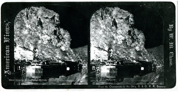 A view of B. & O. R.R. scenery in stereoscopic images.