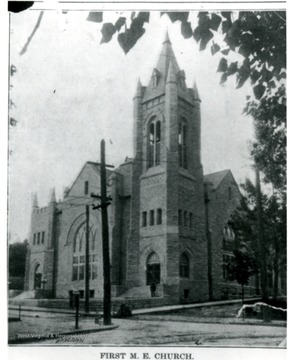 The church currently called Wesley Methodist Church, sits on the corner of Willey and High Street.