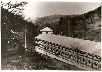 Red Sulphur, a resort located in Southern Monroe County, W. Va. It was a popular mineral spring resort from 1820 to World War I.