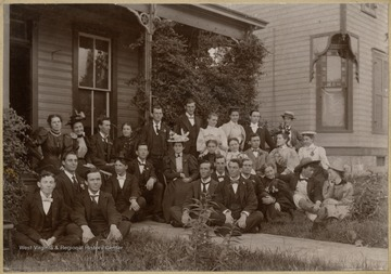 'Otto Ladwig is 2nd from right in the  back row. Long Live the F.S.N.S'