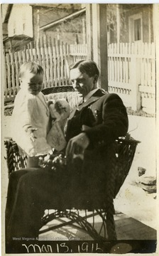 Dr. Otto and his daughter Cornelia.