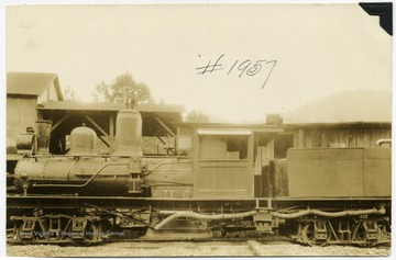 'M. M. and D. D. Brown Locomotive purchased from Porterwood Lumber Company, Porterwood, W. Va., where picture was taken.