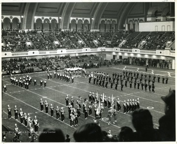The Liberty Bowl, where WVU played Utah, took place in Convention Hall, Atlantic City, New Jersey.