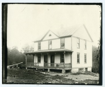 Anderegg home on Hilltop, later the home of Henry Betler. Approximately 2 and 1/2 miles from Helvetia.