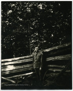 Walter Aegerter in World War I uniform.