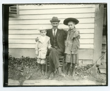 John, Gottlieb, and Ruth Hofer.