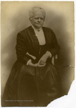Mother of John W. Davis.