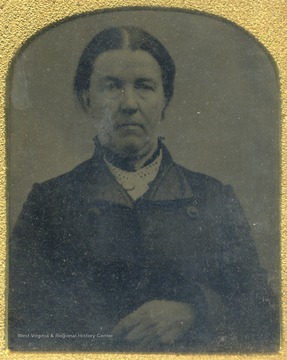 Cased portrait of Leah Ballard