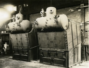 Water-Tube Marine Boilers created by Charles Ward Engineering Works in Charleston, West Virginia.