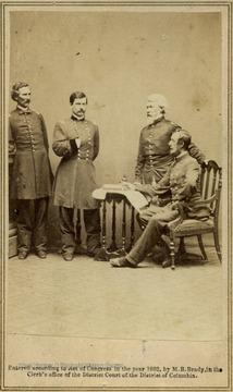 1 General George McClellan And Staff