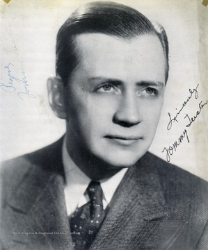 "This portrait was collected by two WVU students, George and Mike Barrick. Tommy Tucker performed at The Met. in Morgantown, West Virginia. The photo is signed ""Sincerely Tommy Tucker"""