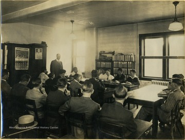 Mr. Dorsey is the teacher standing in front of the class, all other persons are unidentified.