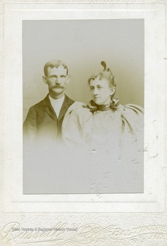 Portrait of Dr. and Mrs. J.W. Johnston.